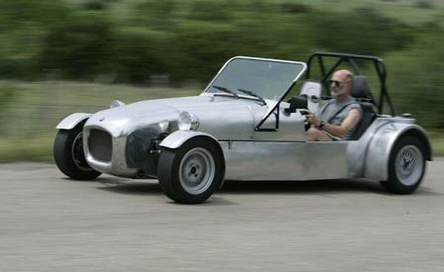 Chris Fiaccone's Locost sports car - Slide 28