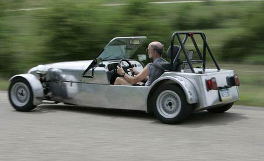 Chris Fiaccone's Locost sports car - Slide 29