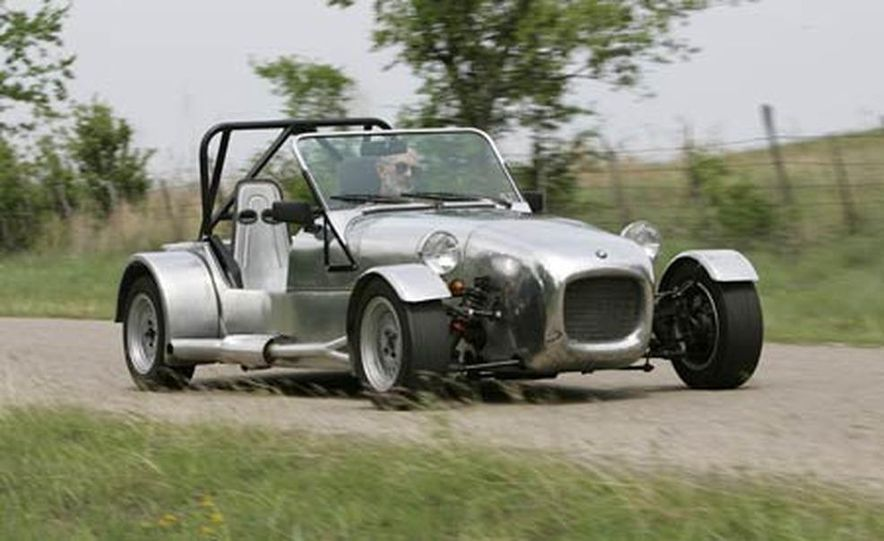 Chris Fiaccone's Locost sports car - Slide 31