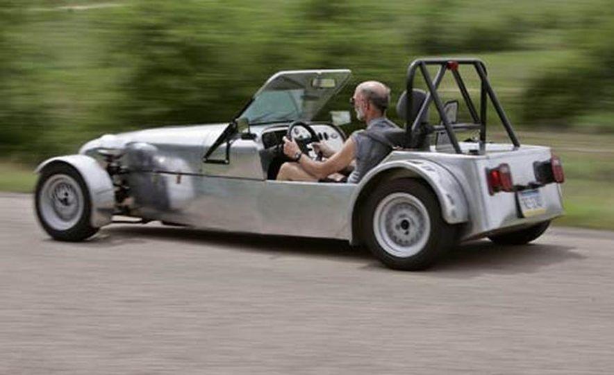 Chris Fiaccone's Locost sports car - Slide 39