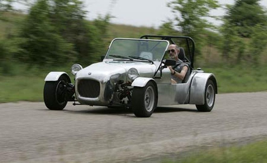 Chris Fiaccone's Locost sports car - Slide 40