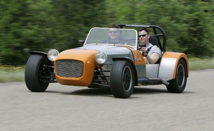 Chris Fiaccone's Locost sports car - Slide 46