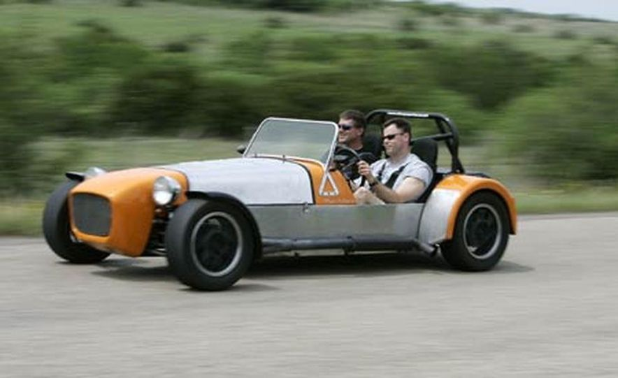 Chris Fiaccone's Locost sports car - Slide 48