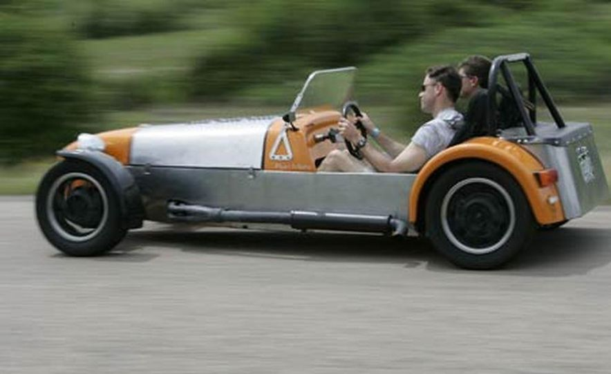 Chris Fiaccone's Locost sports car - Slide 49