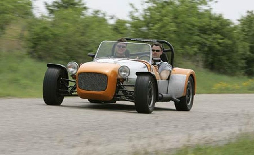 Chris Fiaccone's Locost sports car - Slide 50