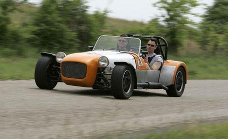 Chris Fiaccone's Locost sports car - Slide 51