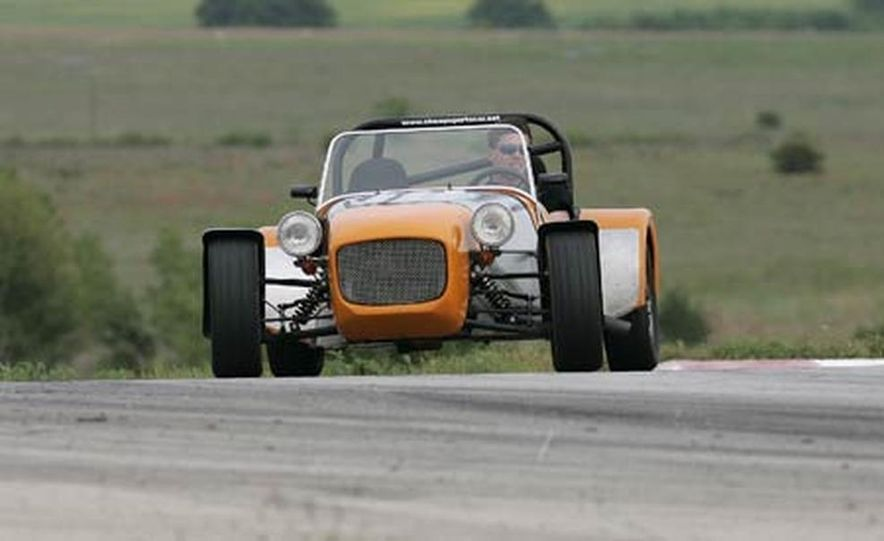 Chris Fiaccone's Locost sports car - Slide 56