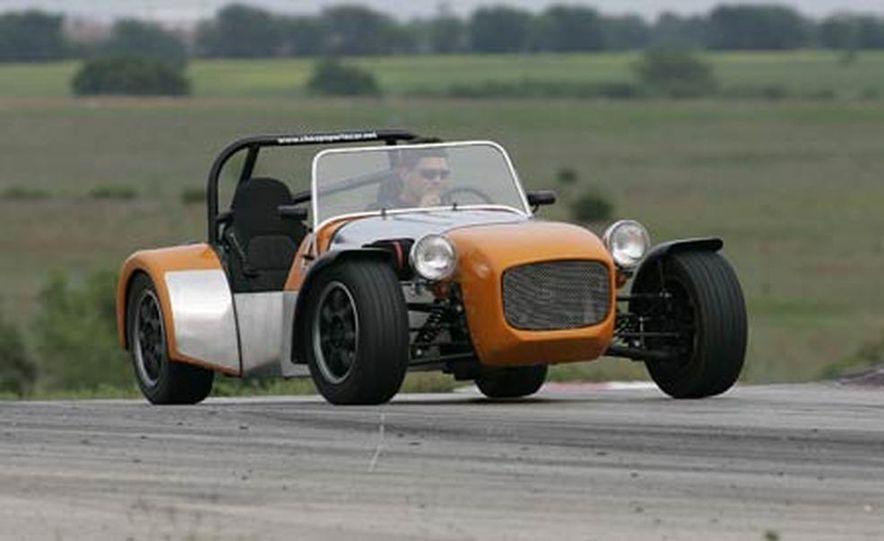 Chris Fiaccone's Locost sports car - Slide 57