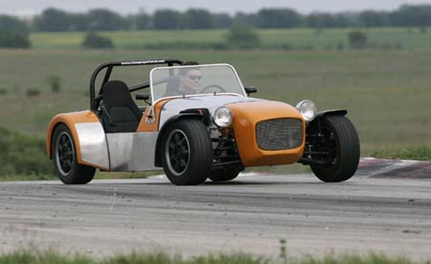 Chris Fiaccone's Locost sports car - Slide 58