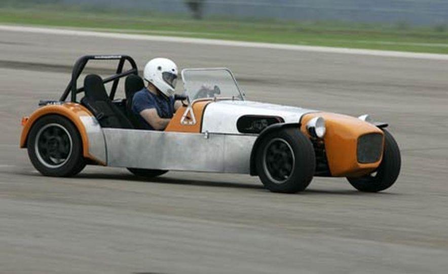 Chris Fiaccone's Locost sports car - Slide 61