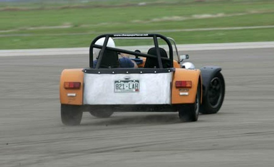 Chris Fiaccone's Locost sports car - Slide 62