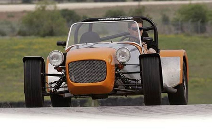Chris Fiaccone's Locost sports car - Slide 67
