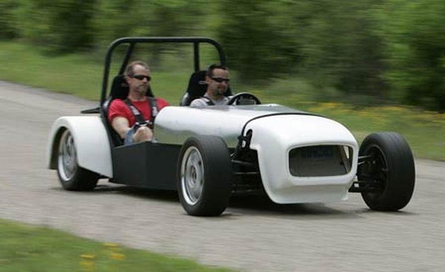 Chris Fiaccone's Locost sports car - Slide 79