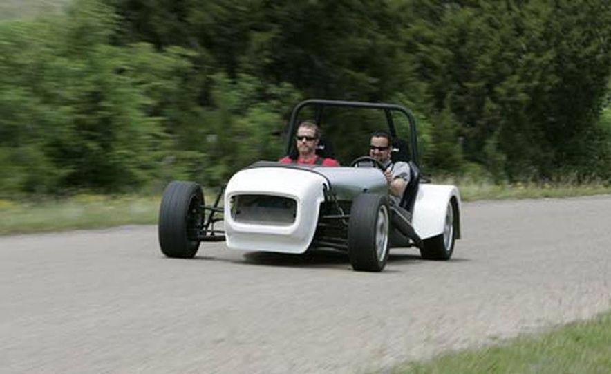 Chris Fiaccone's Locost sports car - Slide 80