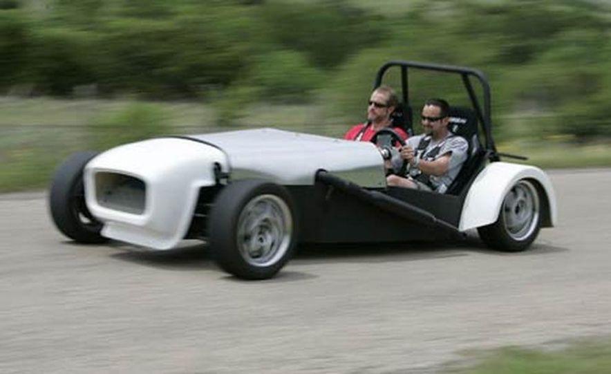 Chris Fiaccone's Locost sports car - Slide 81