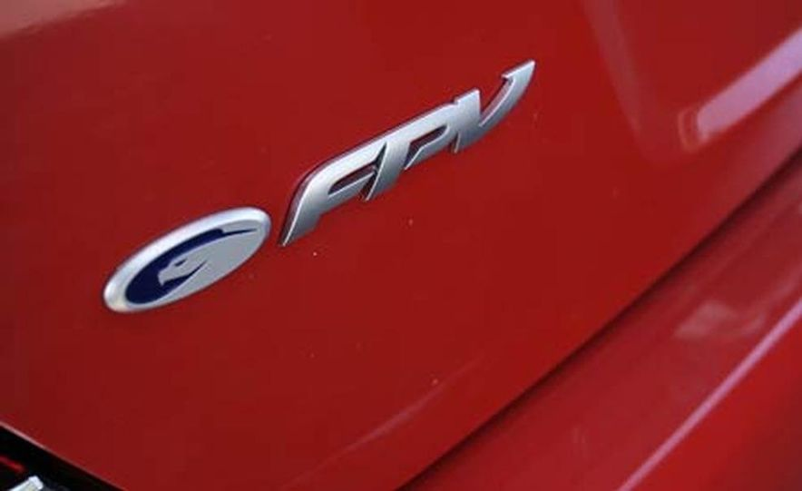 2006 Ford Falcon FPV GT Boss 290 - Slide 27
