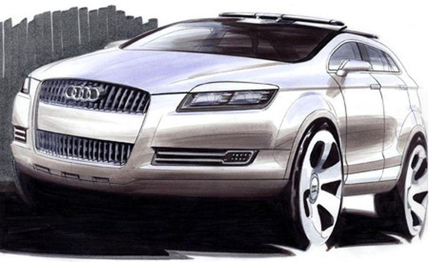 Audi Pikes Peak Quattro Concept preproduction sketch - Slide 1