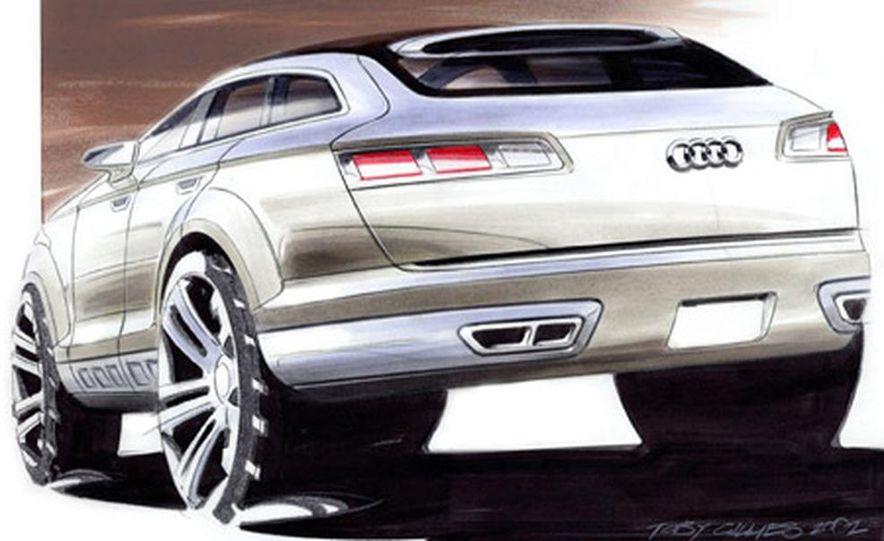 Audi Pikes Peak Quattro Concept preproduction sketch - Slide 2
