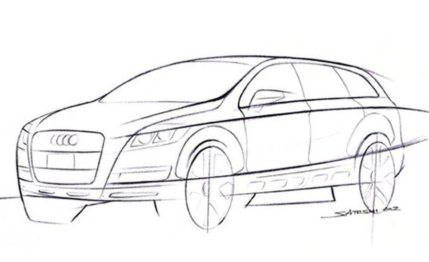 Audi Pikes Peak Quattro Concept preproduction sketch - Slide 3