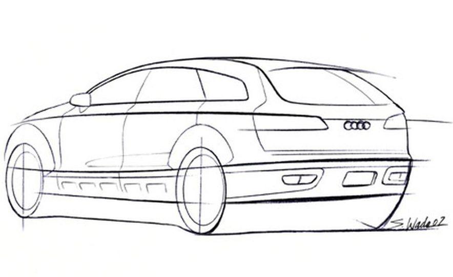 Audi Pikes Peak Quattro Concept preproduction sketch - Slide 4