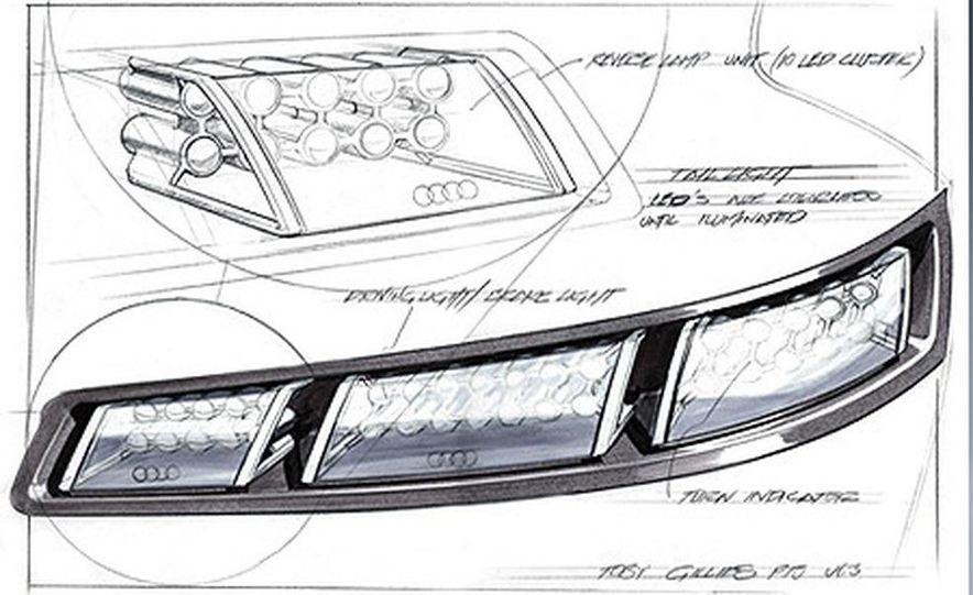 Audi Pikes Peak Quattro Concept preproduction sketch - Slide 5