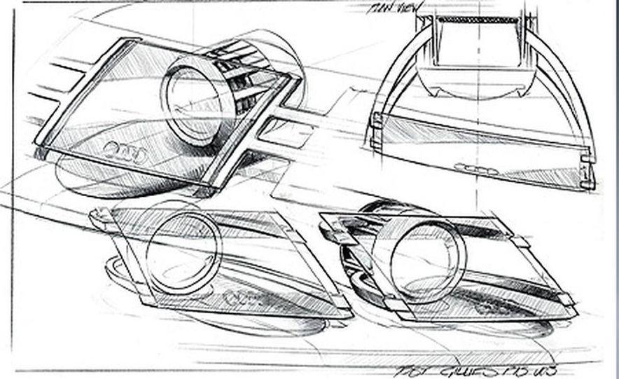 Audi Pikes Peak Quattro Concept preproduction sketch - Slide 6