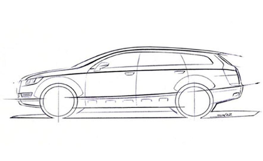 Audi Pikes Peak Quattro Concept preproduction sketch - Slide 7
