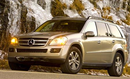 Mercedes-Benz ML320 CDI, GL320 CDI, and R320 CDI