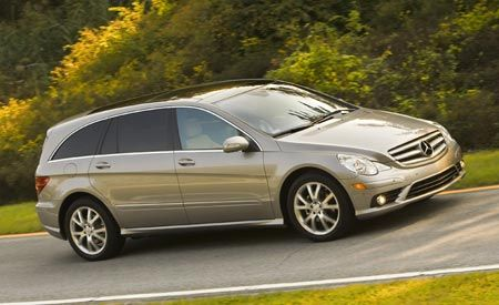 Mercedes-Benz ML350, Mercedes-Benz R350, and Acura MDX