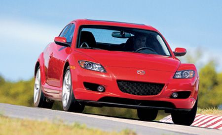 Mazda RX Best Cars Features Car And Driver - Sports cars 2005
