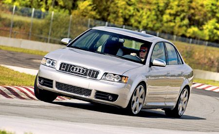Counterpoint - 2004 audi s4 review