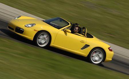 2008 Porsche Boxster and Cayman