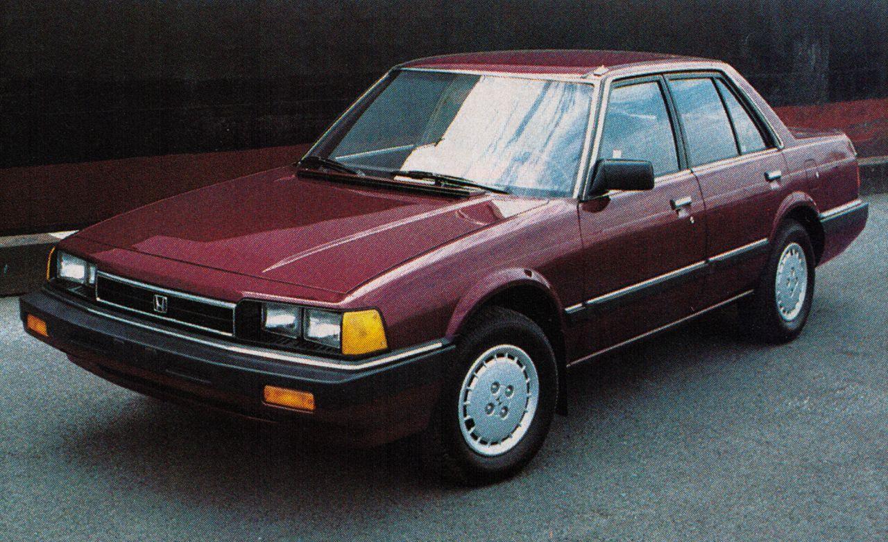 84 Honda Accord >> 1984 Honda Accord 10best Cars Features Car And Driver