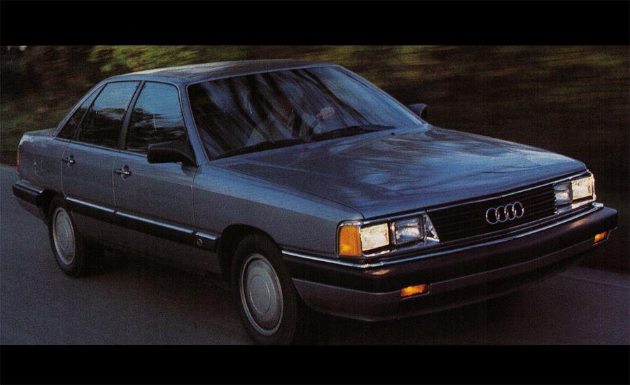 1985 Audi 5000S/Turbo