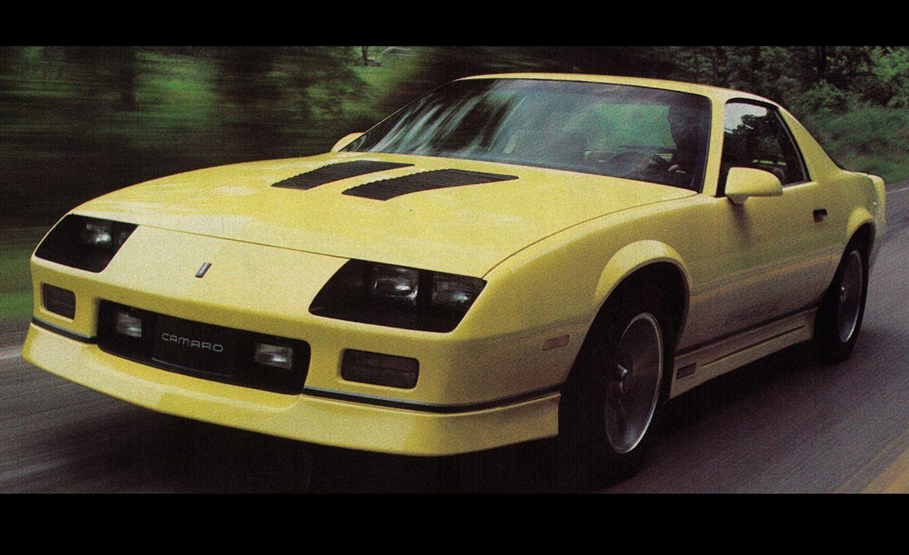 2018 Camaro Iroc Z >> 1985 Chevrolet Camaro IROC-Z