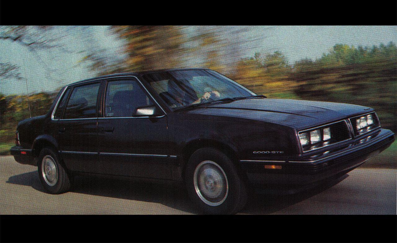 1985 Pontiac 6000STE