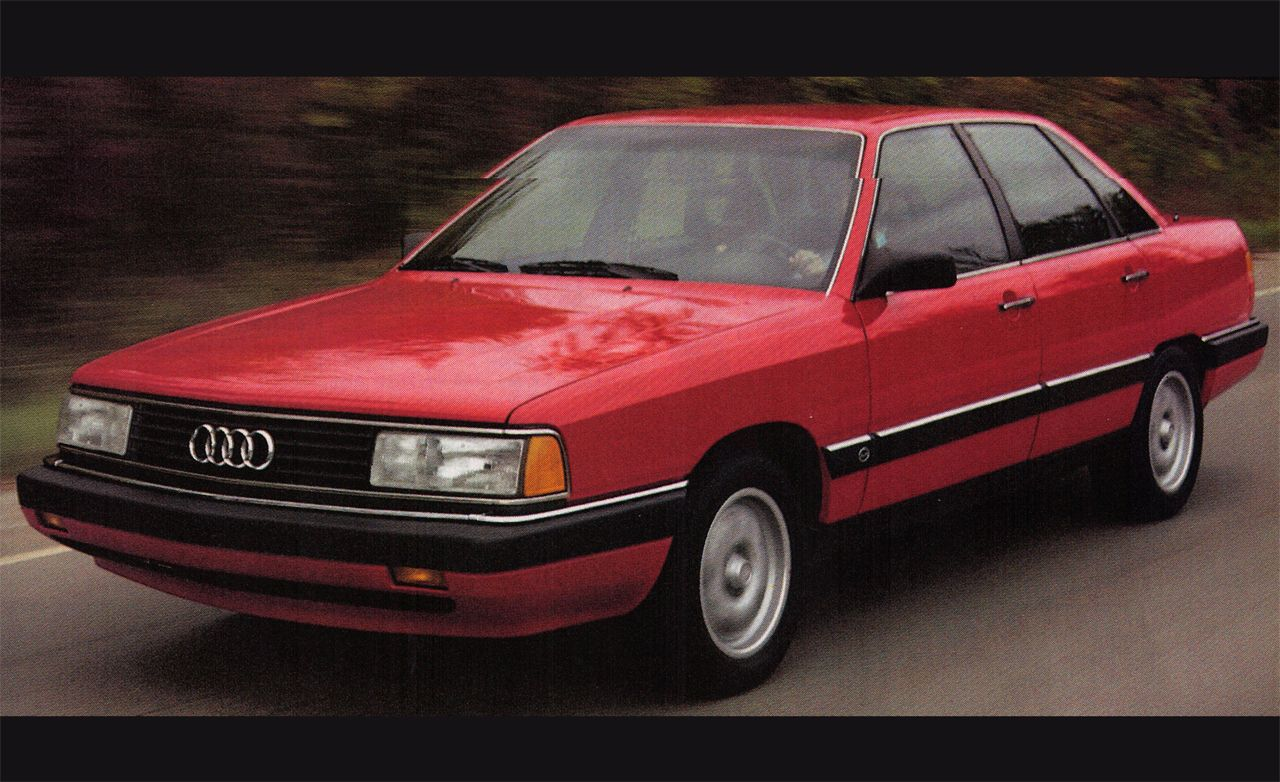 1986 Audi 5000CS Turbo Quattro