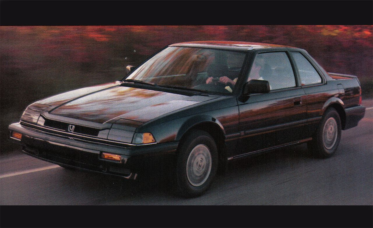 1986 Honda Prelude 10best Cars Features Car And Driver
