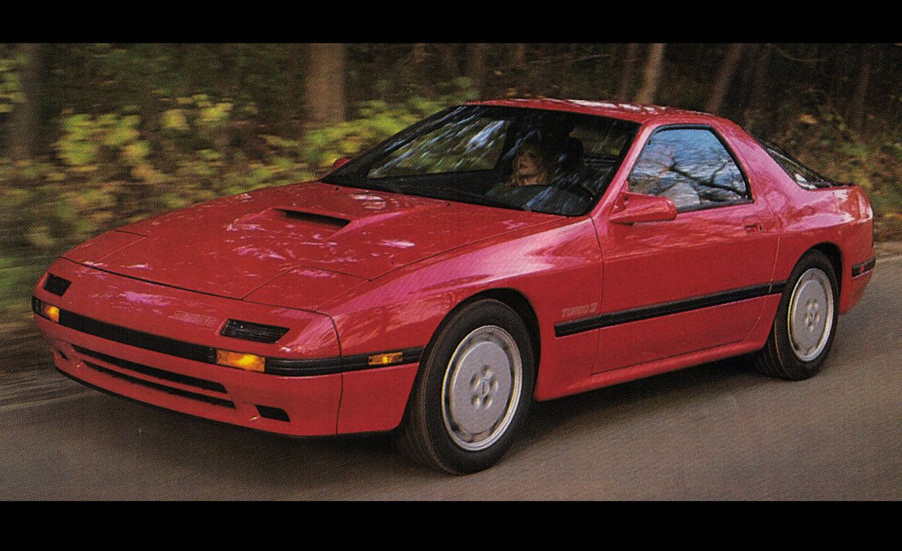 Comments On 1987 Mazda Rx 7 Turbo Car And Driver Backfires