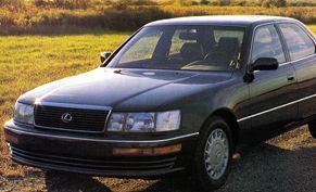1990 lexus ls400 mpg