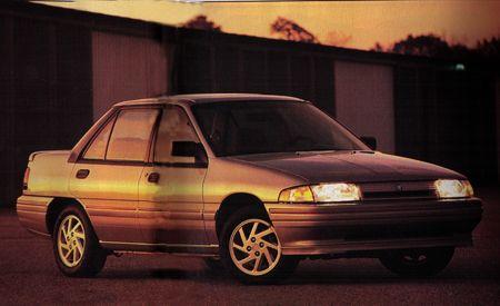 1991 Mercury Tracer LTS