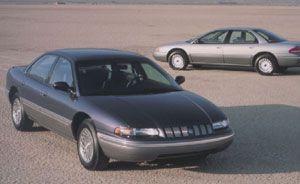 1993 Dodge Intrepid, Eagle Vision, and Chrysler Concorde