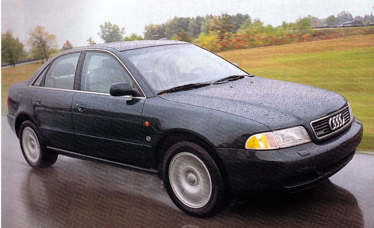 Used Chrysler Town And Country >> 1996 Audi A4