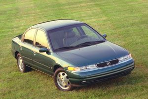 Image result for picture of a green 1996 mercury mystique