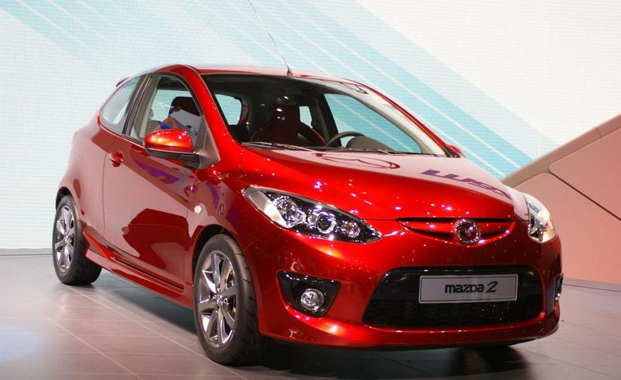 2009 Mazda 2 three-door - Slide 1