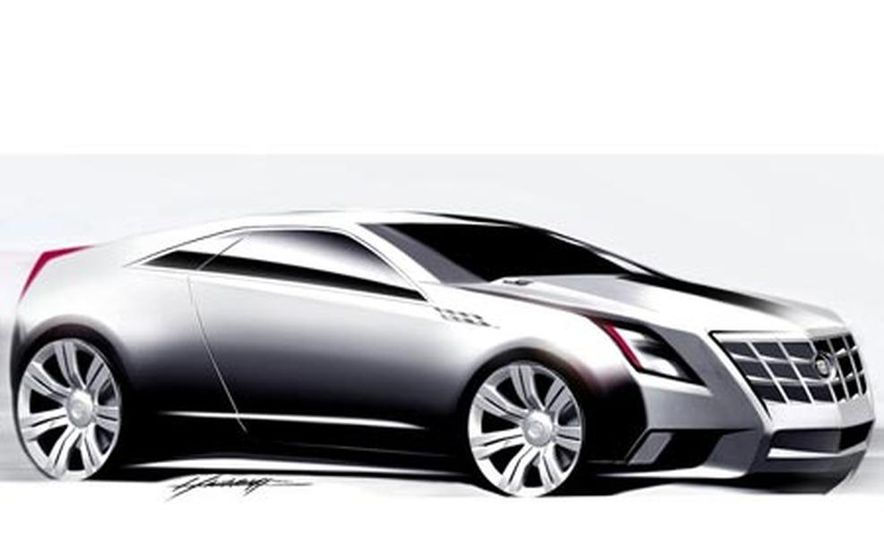 Cadillac CTS Coupe concept - Slide 16
