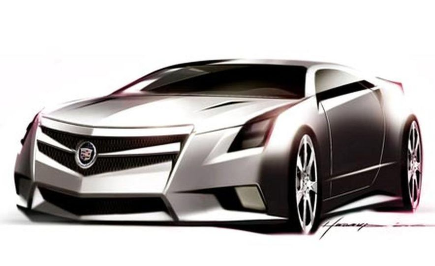 Cadillac CTS Coupe concept - Slide 17