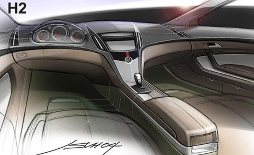 Cadillac CTS Coupe concept - Slide 23