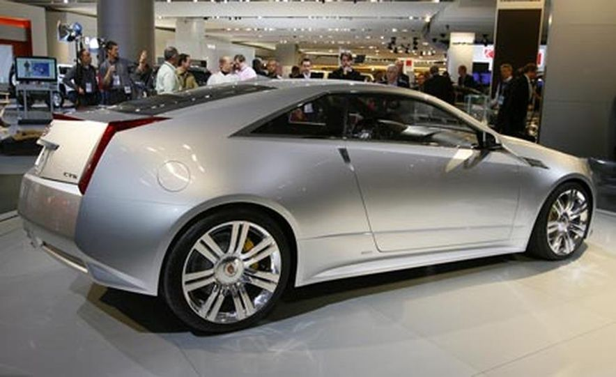 Cadillac CTS Coupe concept - Slide 7