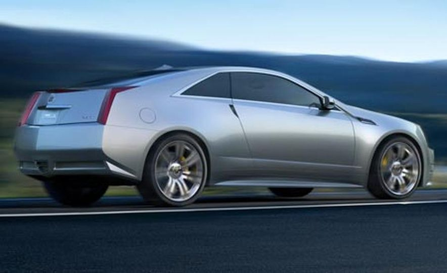 Cadillac CTS Coupe concept - Slide 11